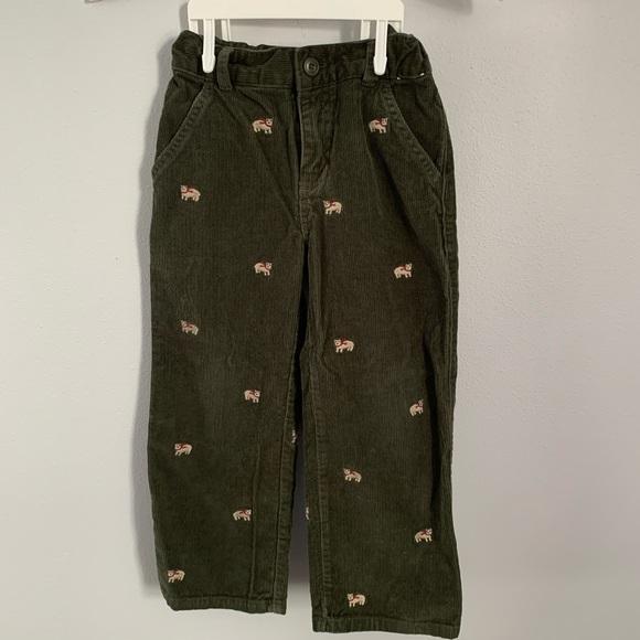 NWT Boy/'s Gymboree brown elastic waist casual pants ~ 4 8 FREE SHIPPING!